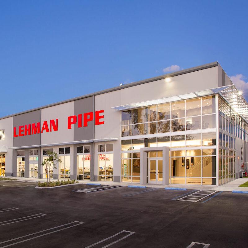 lehman pipe building square