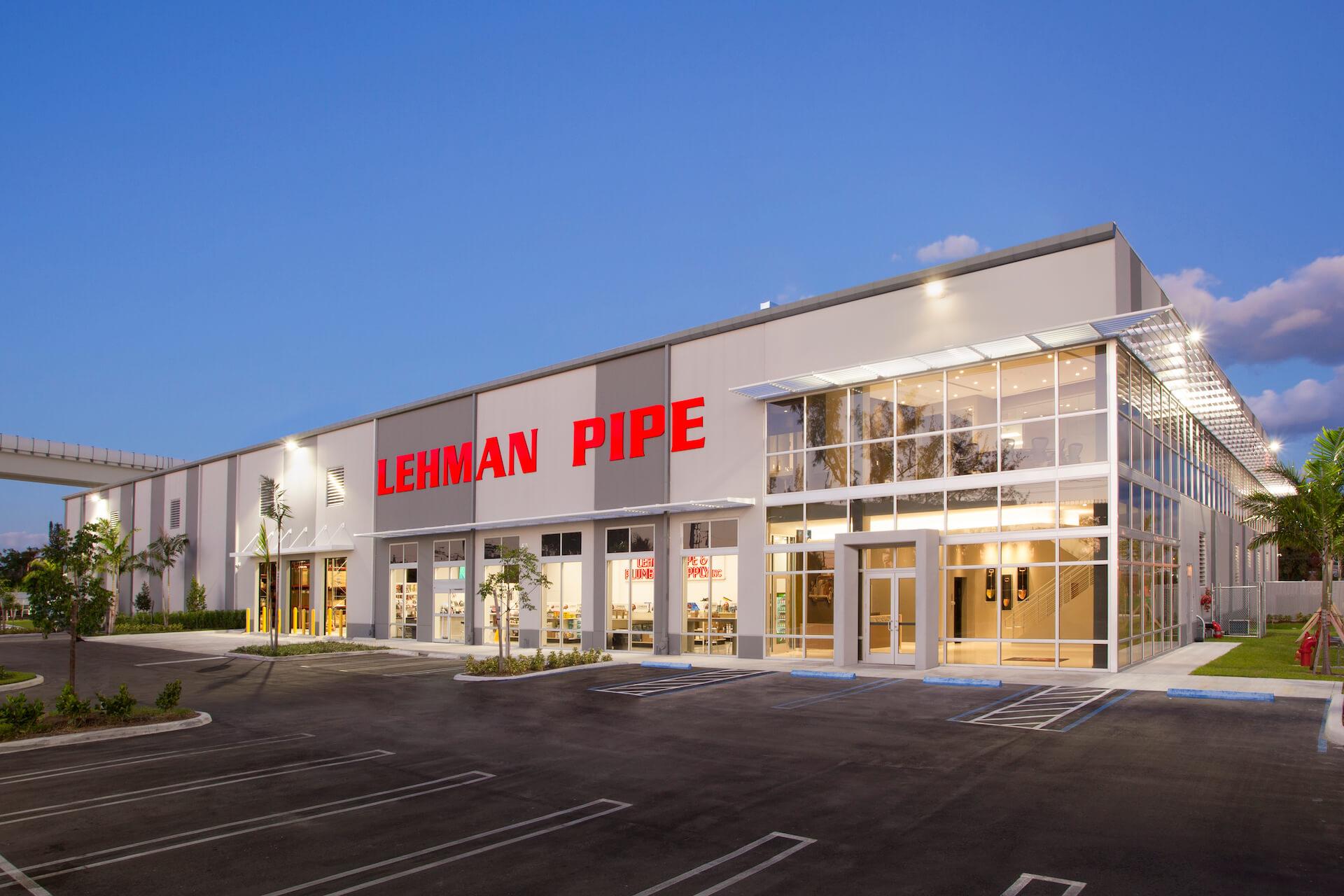 lehman pipe builiding